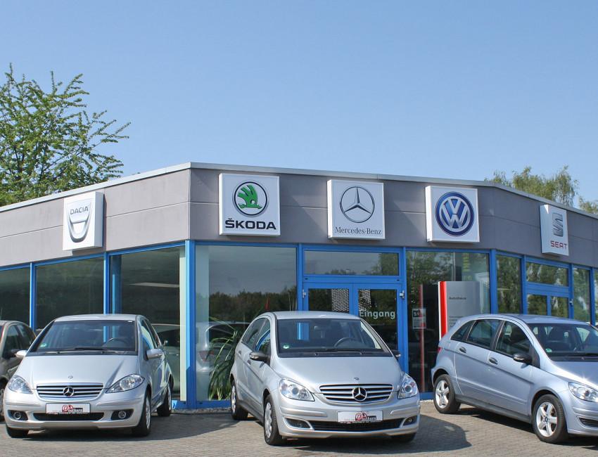 Auto verkaufen oder Autoankauf Bitterfeld-Wolfen von Autos am Posthorn Halle (Saale)